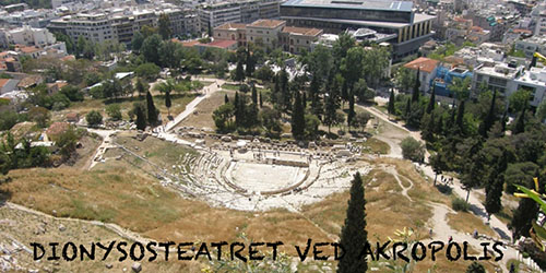 Dionysosteatret ved Akropolis